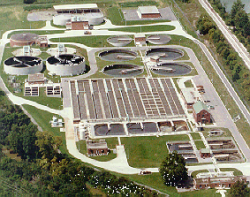 Lima wastewater treatment facility