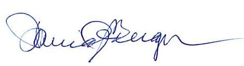 Mayors signature